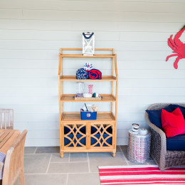coastal haven design | coastalhavendesign.com | outdoor shelving