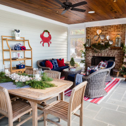 coastal haven design | coastalhavendesign.com | indoor and outdoor living and dining holiday