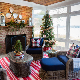 coastal haven design | coastalhavendesign.com |indoor outdoor Christmas decor