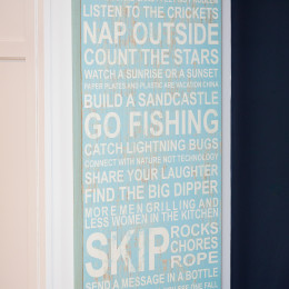 coastal haven design | coastalhavendesign.com | inspirational sign