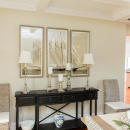 coastal haven design | coastalhavendesign.com | Dining room decor