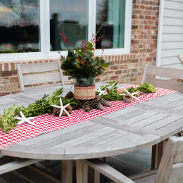 coastal haven design | coastalhavendesign.com | outdoor table centerpieces