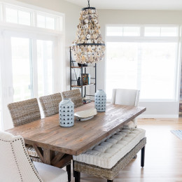 coastal haven design | coastalhavendesign.com | dining room
