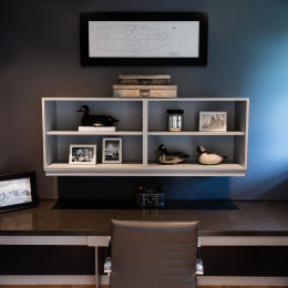 coastal haven design | coastalhavendesign.com | office desk and decor