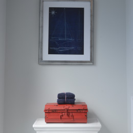 coastal haven design | coastalhavendesign.com | bathroom details: anchor painting