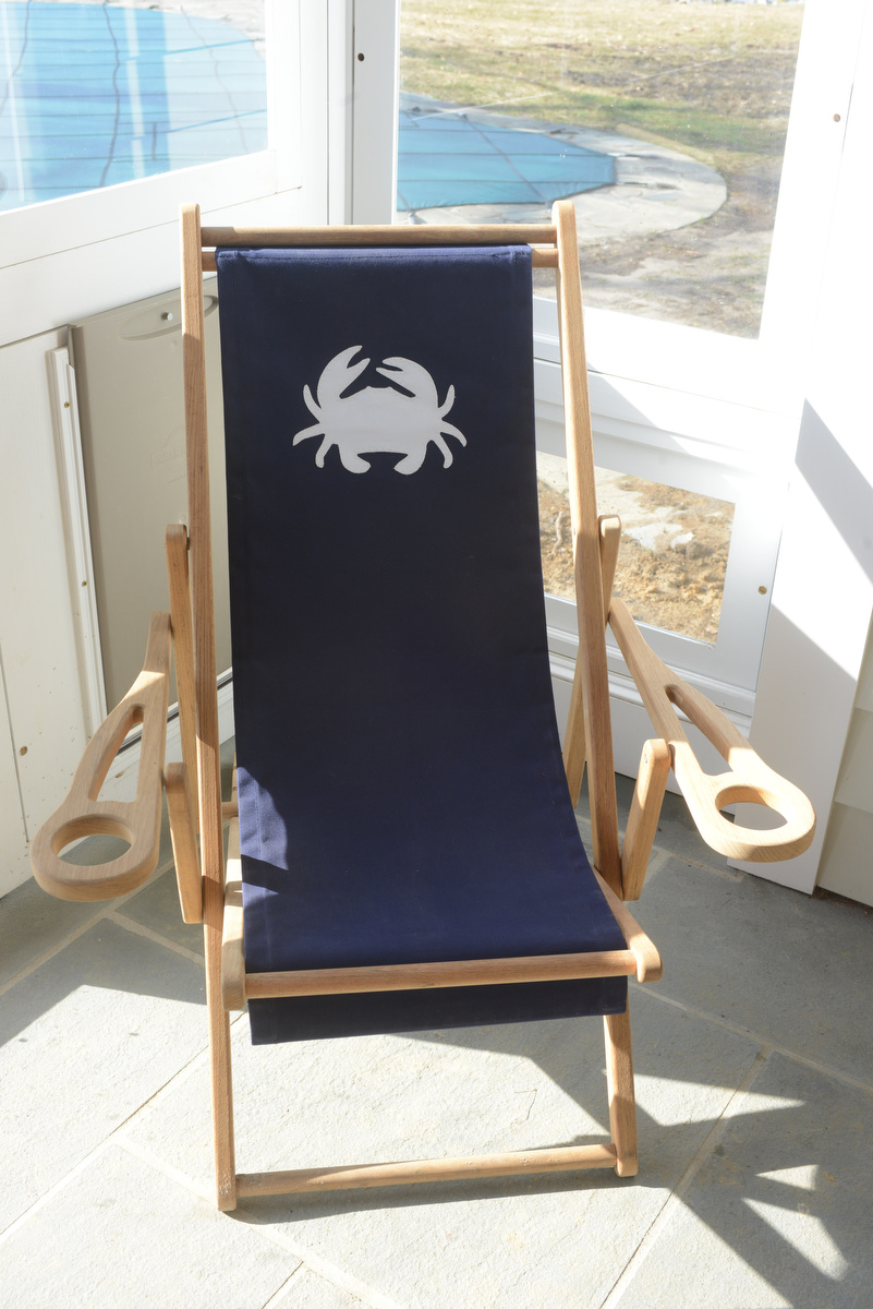 coastal haven design | coastalhavendesign.com | crab porch chair