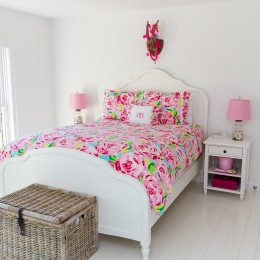 coastal haven design | coastalhavendesign.com | Lily Pullitzer bedroom