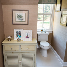 coastal haven design | coastalhavendesign.com | bathroom vanity and toilet