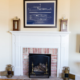 coastal haven design | coastalhavendesign.com | fireplace and mantle decor
