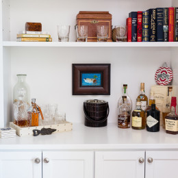 coastal haven design | coastalhavendesign.com | shelving and decor