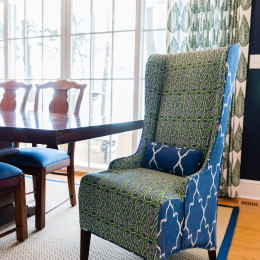 coastal haven design | coastalhavendesign.com | dining room chair