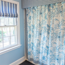 coastal haven design | coastalhavendesign.com | bathroom shower curtain