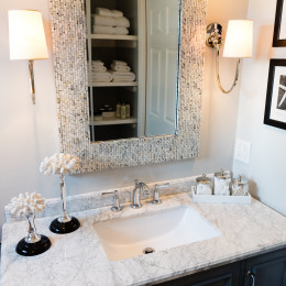 coastal haven design | coastalhavendesign.com | bathroom vanity up close