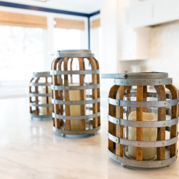 coastal haven design | coastalhavendesign.com | kitchen candles