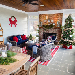 coastal haven design | coastalhavendesign.com | indoor outdoor living holiday seating and decor