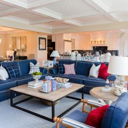 coastal haven design | coastalhavendesign.com | living room couch and decor