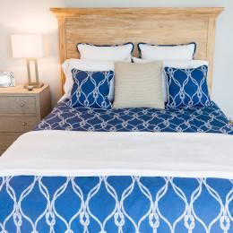 coastal haven design | coastalhavendesign.com | blue bedroom