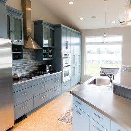 coastal haven design | coastalhavendesign.com | kitchen work space