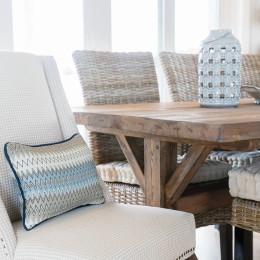 coastal haven design | coastalhavendesign.com | dining room decor