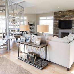 coastal haven design | coastalhavendesign.com | family room and fire place