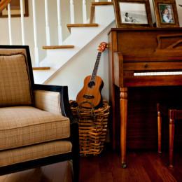 coastal haven design | coastalhavendesign.com | music room