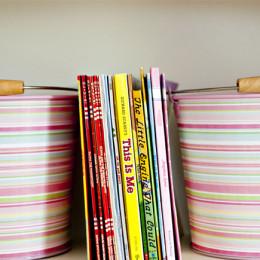 coastal haven design | coastalhavendesign.com | kid's styled bookshelf