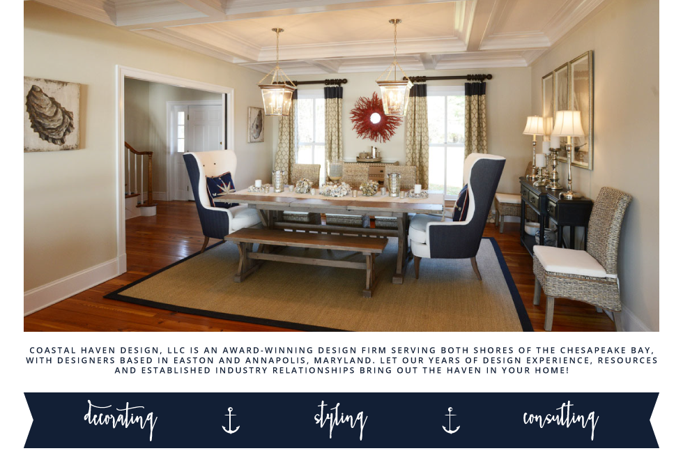 coastal haven design - decorating, styling, consulting