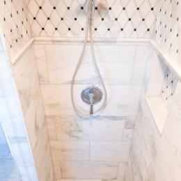 coastal haven design | coastalhavendesign.com | bathroom shower tile and detail