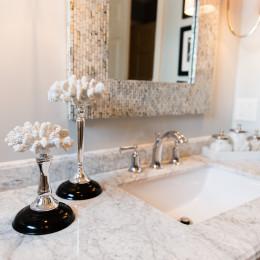 coastal haven design | coastalhavendesign.com | bathroom sink